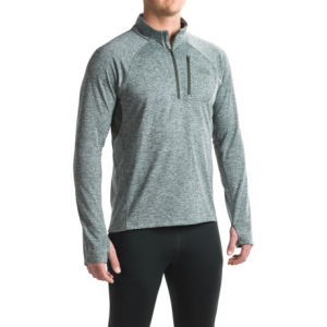Image of The North Face Impulse Active Shirt - Zip Neck, Long Sleeve (For Men)