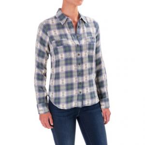 Image of Aventura Clothing Joey Flannel Shirt - Organic Cotton, Long Sleeve (For Women)