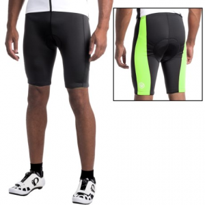 canari hiviz cycling shorts (for men)- Save 50% Off - CLOSEOUTS . These Canari HiViz cycling shorts add an extra measure of safety to your next training session or casual ride. The comfortable 8-panel design has high-visibility side panels and a shock-absorbent chamois. Available Colors: KILLER YELLOW, GLOWSTICK GREEN, SOLAR ORANGE. Sizes: S, M, L, XL, 2XL.