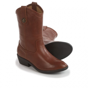 Image of Frye Melissa Button Cowboy Boots - Leather (For Little and Big Girls)