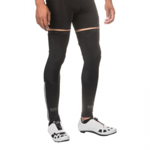 gore bike wear oxygen leg warmers (for men)- Save 56% Off - CLOSEOUTS . Gore Bike Wearand#39;s Oxygen leg warmers pack in a jersey pocket when you anticipate a change in the weather during your ride. Their Windstopperand#174; fabric resists light moisture and keeps out chilly breezes so your muscles stay warm and you stay comfortable in the saddle. Available Colors: BLACK. Sizes: XS, S, M, L, XL.