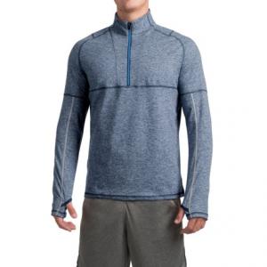 Image of Saucony Run Strong Sport Shirt - Zip Neck, Long Sleeve (For Men)