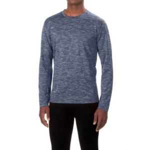 white sierra bug-free base camp t-shirt - long sleeve (for men)- Save 50% Off - CLOSEOUTS . Made from lightweight, breathable, moisture-wicking performance mesh with an Insect Shieldand#174; treatment and a zip stash pocket, White Sierraand#39;s Bug-Free Base Camp T-shirt is ready to take on your toughest outdoor adventures. Available Colors: BURNT ORANGE, HEATHER GRAY, NAVY II, ESTATE BLUE. Sizes: M, L, XL, 2XL, S.