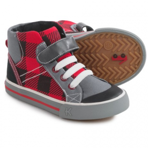 Image of See Kai Run Dane Sneakers - Vegan Leather, Fleece Line (For Little and Big Boys)