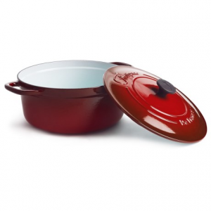 Image of Fontignac Round Cocotte with Lid - 5.5 qt.