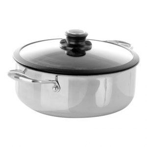 Image of Frieling Cube Casserole Pot with Lid - 4 qt.