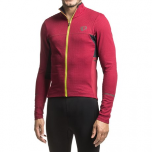 Image of Pearl Izumi P.R.O Escape Thermal Cycling Jersey - Full Zip, Long Sleeve (For Men)