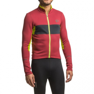 Image of Pearl Izumi ELITE Escape Thermal Cycling Jersey - Full Zip, Long Sleeve (For Men)