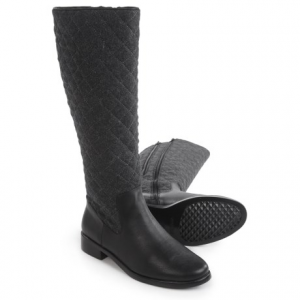 Image of Aerosoles Establish Quilted Riding Boots (For Women)