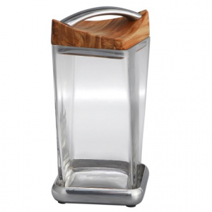 Image of Nambe Twist Canister - 9.5?