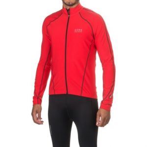 Image of Gore Bike Wear Contest Thermo Cycling Jersey - Full Zip, Long Sleeve (For Men)