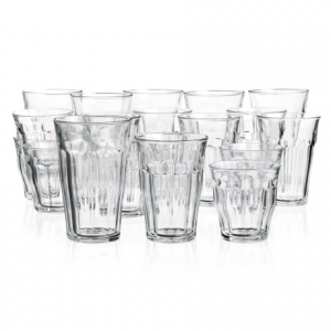 Image of Duralex Picardie Clear Glass Tumblers - Set of 18