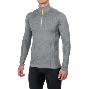 Image of Fera Ergo Base Layer Top - Zip Neck, Long Sleeve (For Men)