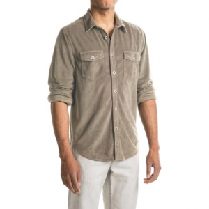 Image of True Grit Sueded Solid Shirt - Long Sleeve (For Men)