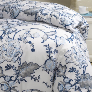 Image of Bambeco Chatham Duvet Cover - Full-Queen, Organic Cotton