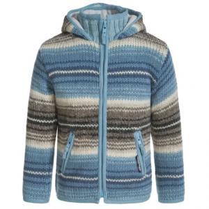 Image of Laundromat Monaco Zip Sweater (For Little Girls)