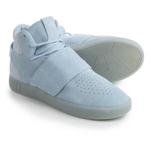 Image of adidas Tubular Invader Strap Shoes - Suede (For Men)