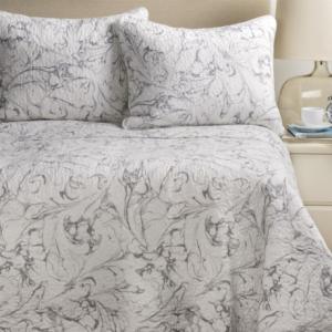 Image of Artisan De Luxe Marble Swirl Quilt Set - Full-Queen