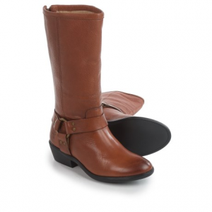 Image of Frye Small Frye Phillip Harness Tall Boots - Leather (For Little and Big Girls)