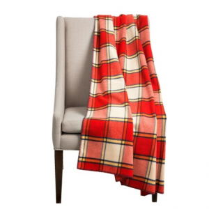 Image of Bambeco Plaid Wool Throw Blanket - 54x70?