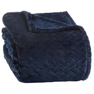 Image of Berkshire Blanket Basket-Weave VelvetLoft(R) Blanket - Full-Queen
