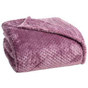 Image of Blanket Plush Honeycomb Blanket - King