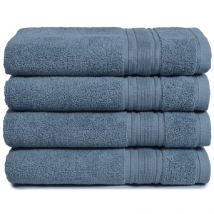 Image of Melange Home Haute Monde Hand Towel Set - Turkish Cotton, 4-Piece