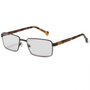 Image of eyeOs El Presidente Photochromic Reading Glasses - Bi-Focal