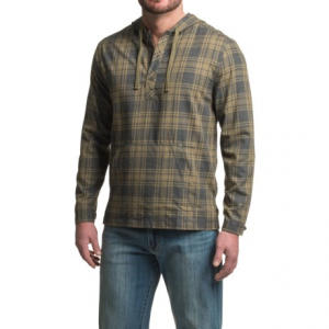 Image of Gramicci Burner Flannel Hoodie (For Men)