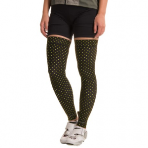shebeest brave leg warmers (for women)- Save 50% Off - CLOSEOUTS . Extend the wear of your bike shorts into the cooler months with Shebeestand#39;s Brave leg warmers -- crafted from fast-drying fabric with a brushed facing for light warmth, stretch for moveable comfort and Sheband grips at top and bottom for a stay-put fit. Available Colors: HOUNDSTOOTH BLACK, FLAMBOYANT BLACK, POLKA MANIA SPRY. Sizes: XS, S, M, L, XL.
