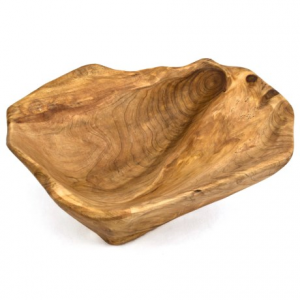 Image of Bambeco Root Wood Bowl - Medium