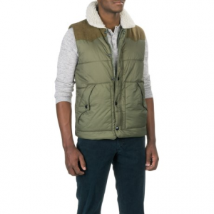 Image of True Grit Solid Puffer Vest - Insulated (For Men)