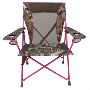 kijaro dual lock camp chair- Save 40% Off - CLOSEOUTS . A step above the average outdoor chair, Kijaroand#39;s Dual Lock camp chair has a sag-free design that offers sturdy back support and locks in the folded position for easy transport. Available Colors: MOSSY OAK/PINK.