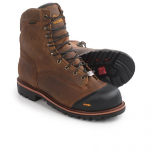 Image of Chippewa Apache Composite Toe Work Boots - Waterproof, 8? (For Men)