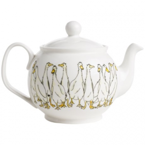 Image of Jersey Pottery Quacky Duck Ceramic Teapot - 8-Cup