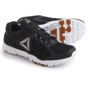 reebok yourflex train 9.0 mt cross-training shoes (for men)- Save 41% Off - CLOSEOUTS . Reebox Yourflex Train 9.0 MT Cross-Training shoes feature a low-cut design thatand#39;s at home in the gym and wonand#39;t weigh you down. The flexible, ultralight outsole is suitable for circuit training, lifting and more. Available Colors: BLACK/SKULL GREY/WHITE/PEWTER/GREY, BLACK//WHITE/GUM/PEWTER. Sizes: 7, 7.5, 8, 8.5, 9, 9.5, 10, 10.5, 11, 11.5, 12, 12.5, 13, 14.