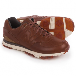 Image of New Balance 574 LX Golf Shoes - Waterproof, Leather (For Men)