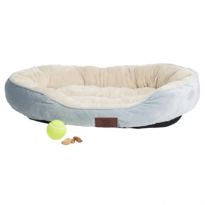 Image of AKC Oval Cuddler Dog Bed - 30x23?