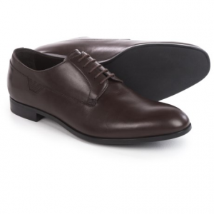 Image of Armani Oxford Shoes - Leather, Round Toe (For Men)