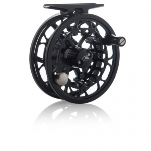 scientific anglers ampere electron ii fly reel- Save 64% Off - CLOSEOUTS . Fishproof for the long haul, Scientific Anglersand#39; Ampere Electron II fly reel is a large-arbor, aircraft-grade, 6061 cast-aluminum reel engineered with a stacked carbon fiber/stainless steel washer drag system. The lightweight spool easily converts to left- or right-hand retrieve, and with the click of a button, quickly swaps out with a spare Ampere Electron II spool (sold separately). Available Colors: BLACK.