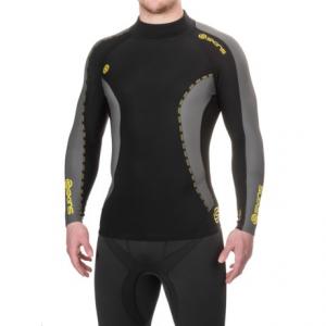 Image of Skins DNAmic Thermal Mock Neck Shirt - Long Sleeve (For Men)