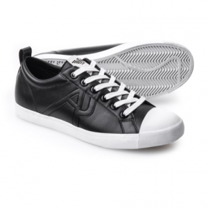 Image of AJ Armani Jeans Retro Sneakers - Vegan Leather (For Men)