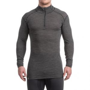Image of Ibex Woolies 1 Base Layer Zip Turtleneck - Merino Wool, Long Sleeve (For Men)