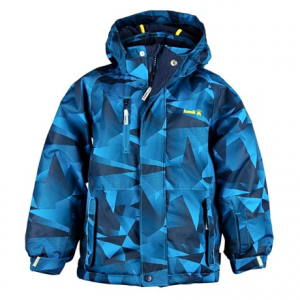 Image of Kamik Devyn Labyrinth Printed Jacket - Insulated (For Toddler Boys)