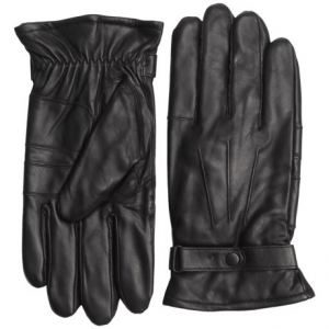 Image of Barbour Burnished Leather Gloves (For Men)