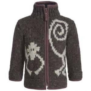 Image of Laundromat Monkey Zip Sweater (For Little Boys)