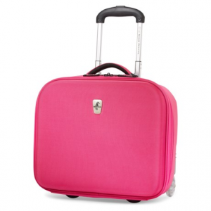 Image of Atlantic Debut Hardside Rolling Tote Suitcase - Carry On, 28L