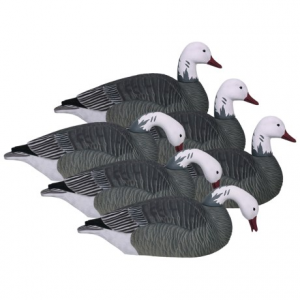 Image of Hardcore Pro-Series Blue Goose Shell Touchdown Decoys - 6-Pack
