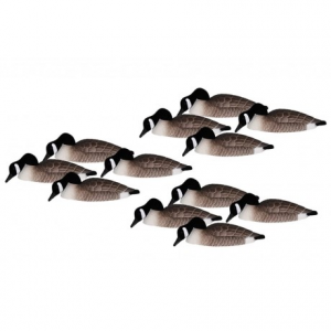 Image of Hardcore Canada Goose Shell Feeder Decoys - 12-Pack