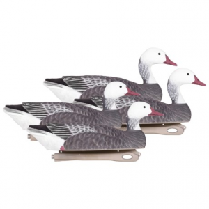 Image of Hardcore Pro-Series Floater Blue Goose Touchdown Decoys - 4-Pack